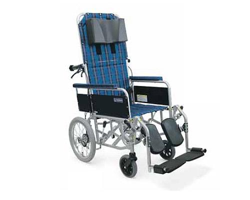 アルミ製フルリクライニング介助用車椅子 RR53-NB カワムラサイクル送料無料 車いす リクライニング 車椅子 車イス 車いす フルリク 歩行補助 介護用品