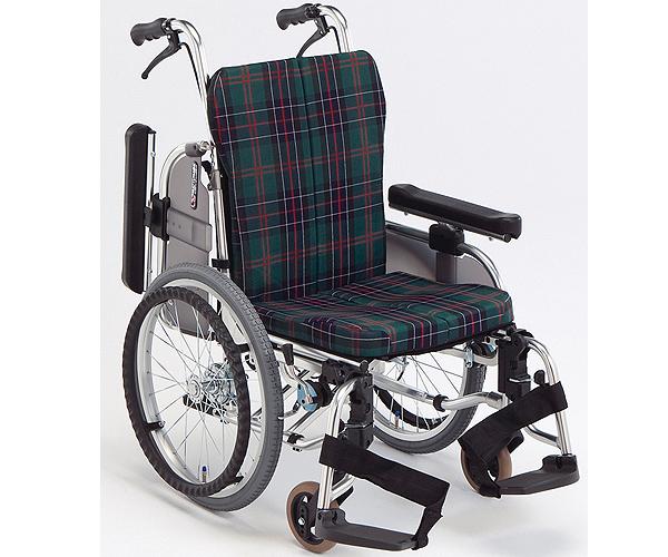 アルミ製自走式コンパクトセミモジュール車椅子 AR-911S 松永製作所 【smtb-kd】【介護用品】【歩行補助】【自走型車いす 車イス】【肘跳ね上げ式】