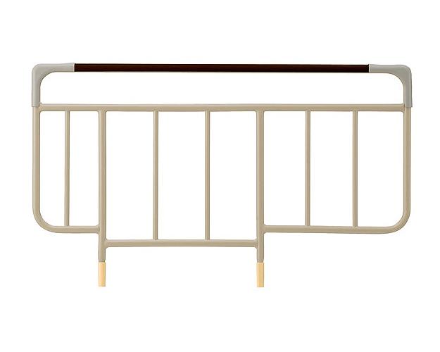 転落予防・寝具の落下予防に!ベッドサイドレール KS-146W パラマウントベッド 【介護用品】