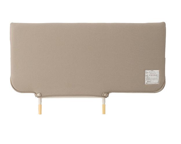 転落予防・寝具の落下予防に!ソフトカバー付きベッドサイドレール KS-146WC パラマウントベッド 【介護用品】