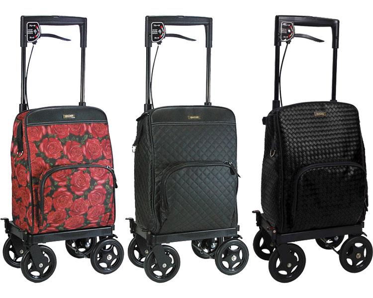 ショッピングカート 4輪 サイドカー メロディ プリモ(右用・左用) 島製作所送料無料 高齢者 手押し車 アクティブシニア 介護用品