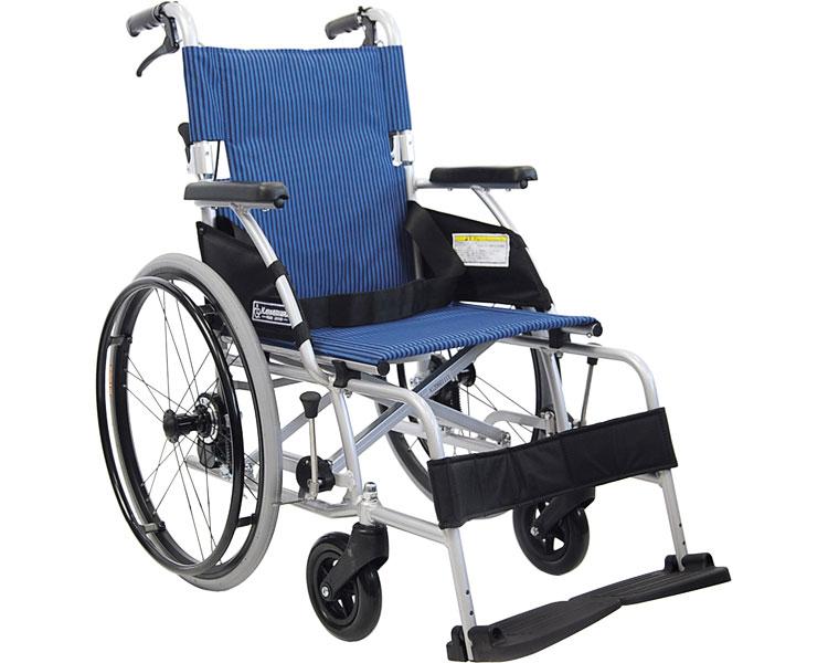 車椅子 軽量ベーシックモジュールアルミ車いす 自走用 BML20-40SB カワムラサイクル車イス 車いす 車椅子 軽量 折り畳み 歩行補助 介護用品