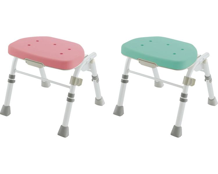 介護用 風呂椅子 ●折りたたみシャワーチェア M型 背無 リッチェル風呂椅子 入浴補助 介護 椅子 風呂いす 風呂イス 背なしタイプ 介護用品