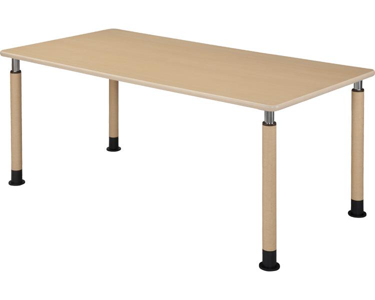 昇降テーブル 4本固定脚 幅180×奥行90cm/UFT-4T1890-4L1 ハイテクウッド 【smtb-kd】【介護用品】