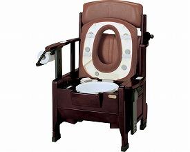 テイコブ 家具調ポータブルトイレ 消臭・暖房タイプ/PT05WZ  幸和製作所 【smtb-kd】【介護用品】