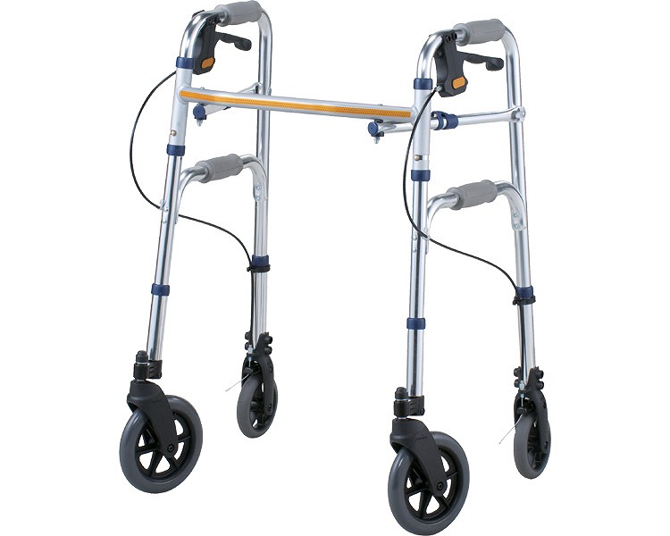 屋内屋外両用歩行器 セーフティーアームVタイプウォーカー スタンダードタイプ SAV イーストアイ介護 歩行補助器 セーフティーアームウォーカー 歩行補助 歩行器 高齢者 介護用品