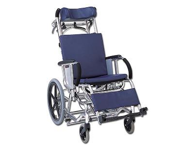 介助用リクライニング車椅子 マイチルト MH-4R (レザー仕様) 松永製作所 【介護用品】【smtb-kd】
