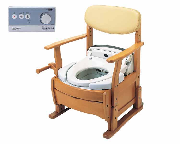 ポータブルトイレ ベルレット/KPW-111 シャワートイレタイプ アイシン精機 【smtb-kd】【介護用品】