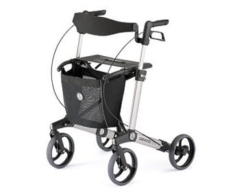 歩行車 ハンディウォークL KZ-C21002 パラマウントベッド歩行補助器 歩行器 介護用品 高齢者 軽量 スタイリッシュ