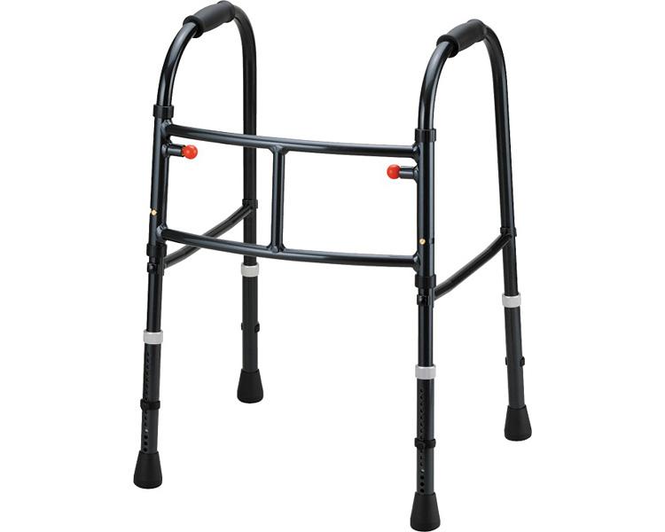 歩行器 介護 MgウォーカーII型(Mgウォーカー2型)固定式 田辺プレスキャスター無 歩行器 歩行補助 介護用品