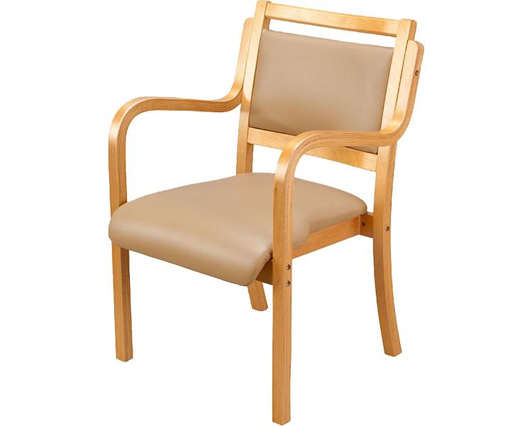 【送料無料】木製スタッキングチェアUFC5 介援隊 介護椅子 介護チェア 介護イス 福祉椅子 ダイニングチェア 施設 家具【介護用品】【smtb-kd】