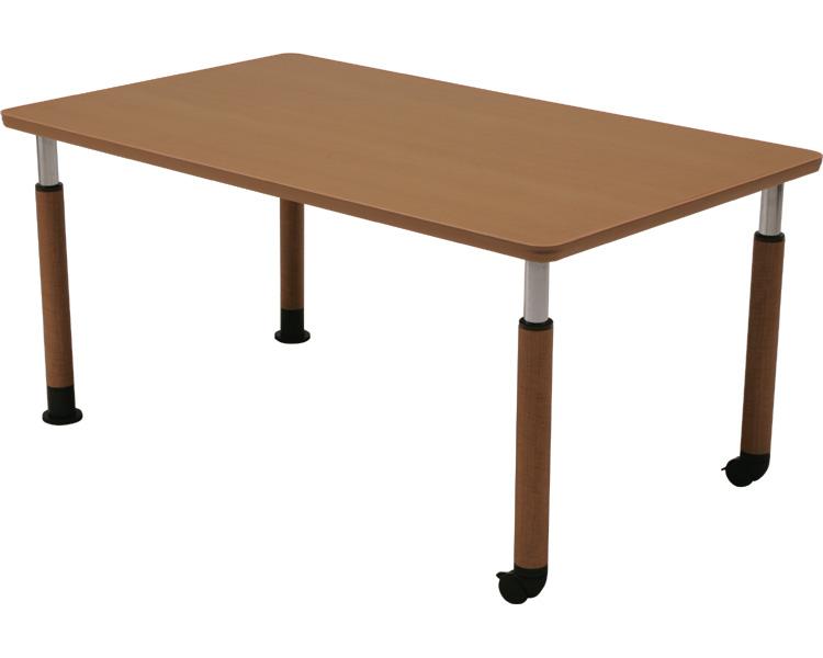 ダイニングテーブルGS-HT No.15 天板150×90cm 継脚セット コイズミファニテック 【smtb-kd】【介護用品】