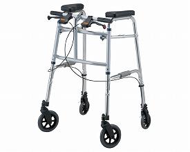 歩行器 セーフティーアームUタイプウォーカー 大型アームレストタイプ SAUJ イーストアイ介護 歩行器 歩行補助車 体位支持 高齢者 手押し車 介護用品