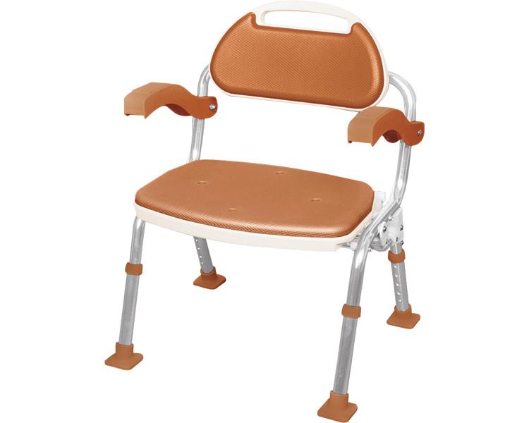 シャワーチェア 折りたたみシャワーベンチ ソフテック 肘掛け付き マキテック介護用 風呂椅子 お風呂 椅子 介護用品 風呂いす