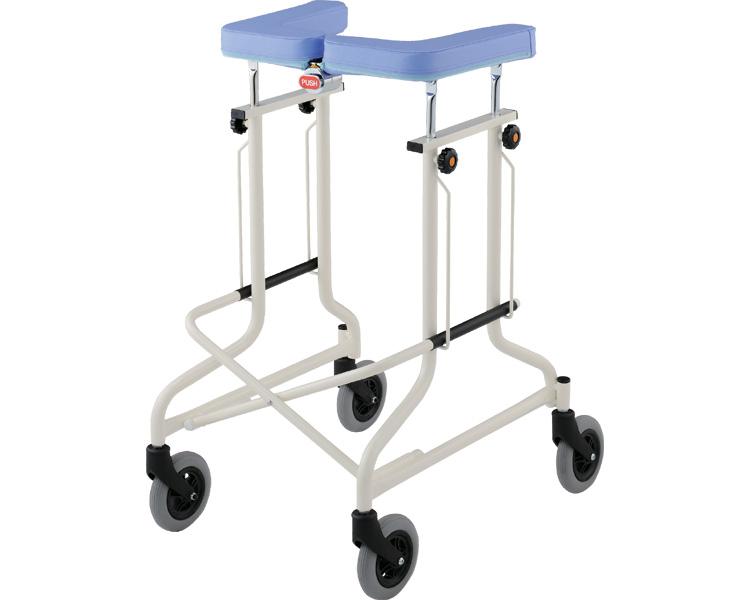 歩行器 アルコーCL型A 自在タイプ 100551 星光医療器製作所馬蹄型歩行器 歩行補助 介護 高齢者 リハビリ トレーニング 介護用品