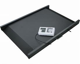 車椅子用体重計(国家検定品) MS3830(受注生産品) モリトー介護用品 病院施設向け備品 車椅子ごと測れる体重計