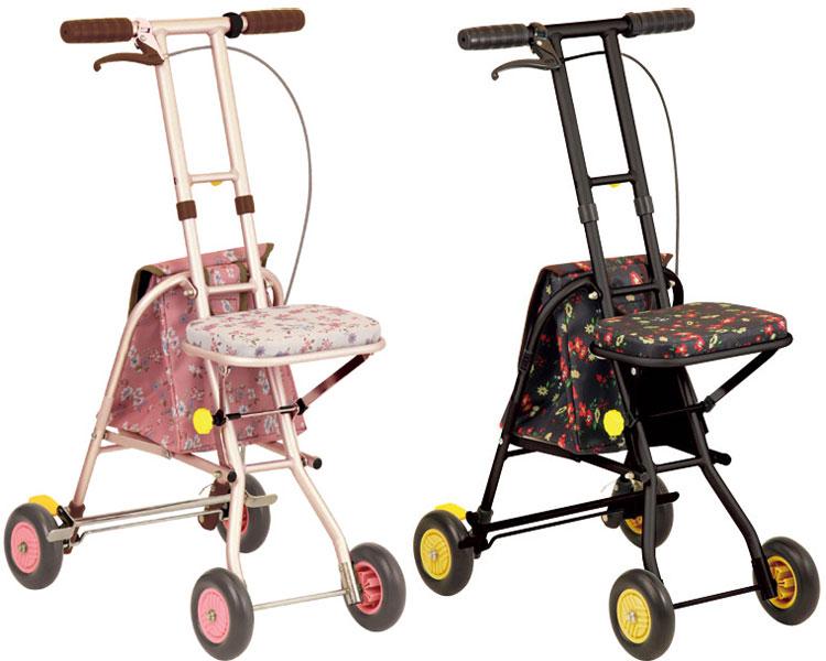 シルバーカー コンパクトタイプ プチカ SICP01 幸和製作所シルバーカー 軽量 おしゃれ 手押し車 老人 介護用品