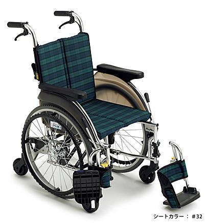 自走式車いす スキット5 SKT-5 ミキ 【smtb-kd】【介護用品】【車椅子 車イス】【自走用車いす】