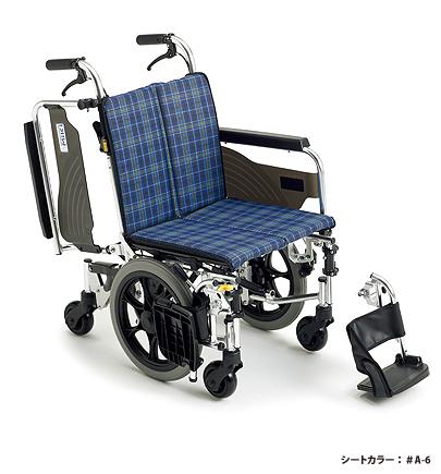 介助式車いす 6輪車椅子 スキット6 SKT-6 ミキ 【smtb-kd】【介護用品】【車椅子】【車イス】【自走用車いす】