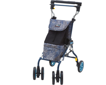 シルバーカー ライトステップタイニーWウキウキ(UKIUKI) 象印ベビーシルバーカー 手押し車 老人 高齢者 シニア 介護用品 歩行補助