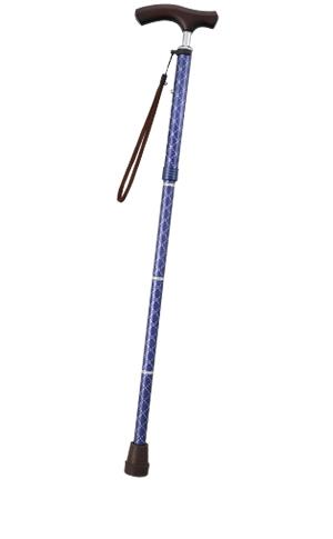 テイコブ折りたたみ式伸縮ステッキ(首細)BOLD EON16 幸和製作所 【介護用品】【ステッキ】【敬老の日】