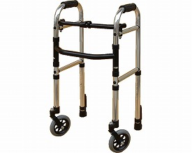 歩行器 ミニフレームウォーカー固定型キャスターモデル(Cモデル) WFM-4262SW5G3 シンエンス 【smtb-kd】【軽量】【介護】【歩行車】【介護用品】【歩行器/歩行補助】