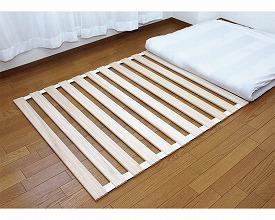 桐すのこベッド ロール式 3枚セット KT-100G 武田コーポレーション梅雨対策 すのこ ベッド 介護用品 まとめ買い お得なセット
