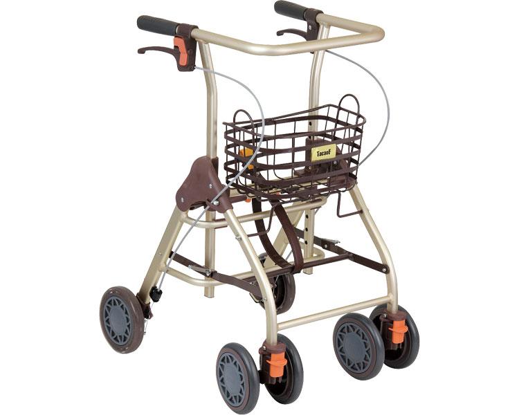 シルバーカー テイコブリトルホーム WAW05 ブラウン 幸和製作所歩行器 介護 歩行補助 介護用品 手押し車