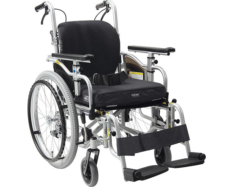 自走・介助兼用 アルミ製車いす アイコンバック仕様・スイングアウト式 KZ20-40(38・42)-SSL/ICR カワムラサイクル 【SMTB-KD】【送料無料】【超々低床型簡易モジュール車いす 車椅子 介護用品】【KZ20-40-SSL/ICR KZ20-38-SSL/ICR KZ20-42-SSL/ICR】