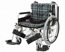 自走・介助兼用 アルミ製車いす KA822-45B-LO 低床タイプ スイングイン・アウト式 カワムラサイクル 【SMTB-KD】【送料無料】【簡易モジュール車いす 車椅子 介護用品】