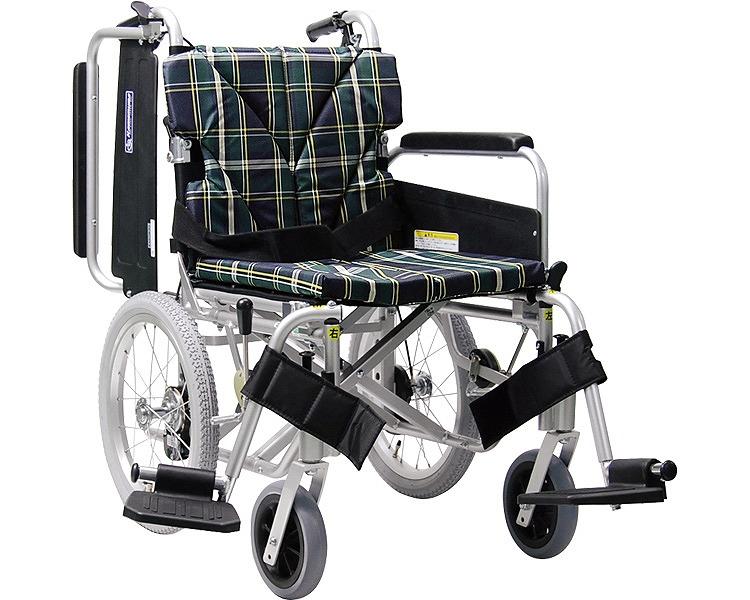 アルミ介助車いす KA816-45B-SL 超低床タイプ スイングイン・アウト式 カワムラサイクル 【SMTB-KD】【送料無料】【簡易モジュール車いす 車椅子 介護用品】