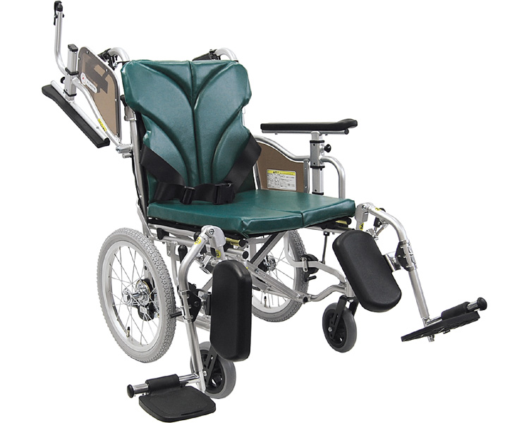 Aluminum-assisted wheelchair floor type cat & swing-out AYO16-40 (36.38, 42.45-48.50)-47 EL