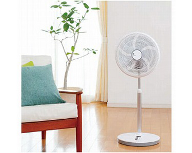 扇風機&サーキュレーター ゼンケンDCファン ZEF-DC1 ゼンケン扇風機 DC サーキュレーター 静音 首振り 介護 熱中症 夏 空気 循環 エコ 部屋干し