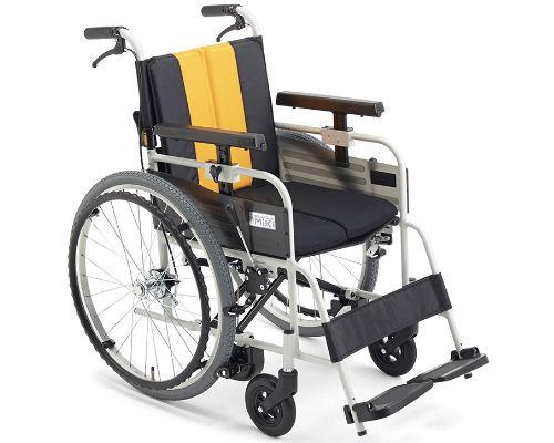 とまっティシリーズ 自走用車椅子 MBY-47B 標準タイプ ミキ 【smtb-kd】【介護用品】【車椅子】【車イス】【介助用車椅子】