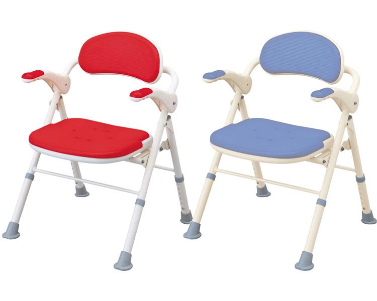 介護 椅子 折りたたみシャワーベンチ TS(座面角型) 安寿 【介護用 風呂椅子】【介護用品】【smtb-kd】