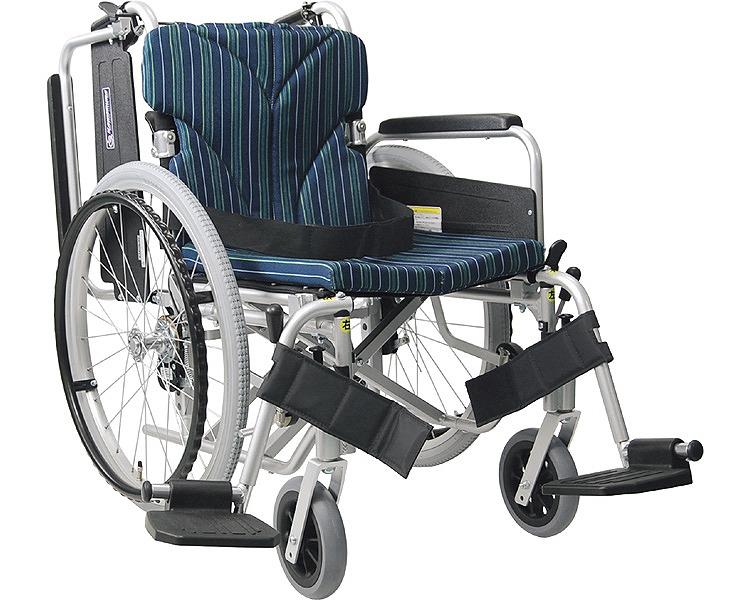 アルミ自走車いす 簡易モジュール KA822-38・40・42B-M 中床タイプ カワムラサイクル 【介護用品】
