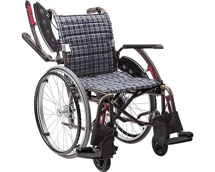 車椅子 自走 次世代型標準車いす WAVIT+(ウェイビットプラス) WAP22-40S WAP22-42S ソフトタイヤ仕様 カワムラサイクル車イス 歩行補助 介護用品 福祉用具