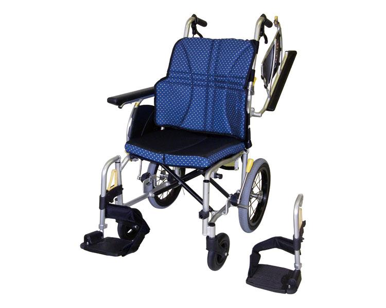 アルミ介助車いす ウルトラシリーズ 多機能タイプ NAH-U2W 日進医療器車椅子 介助式 介助用 車イス くるまいす 高齢者 歩行補助 介護用品