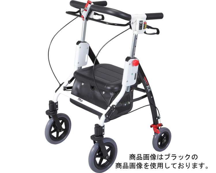 アームフィットエクセレント室内外兼用/AREX-590 レッド ユーバ産業 【介護用品】