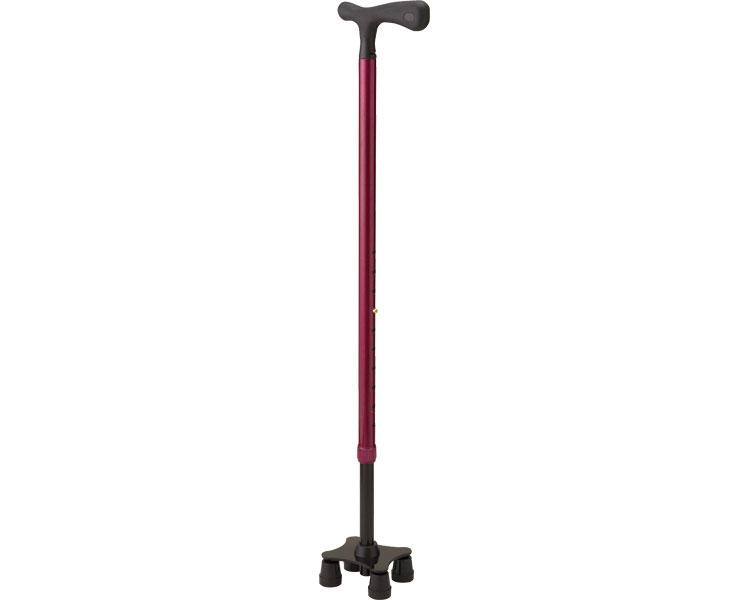 スリム四点杖 SSS ケイ・ホスピア4点杖 多点杖 杖 歩行器 歩行補助 ステッキ 介護用品 高齢者
