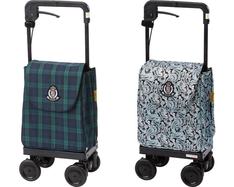 ショッピングカー 4輪 キャリーライトSN 象印ベビーサイドカー ショッピングカート 買い物 散歩 手押し車 介護用品