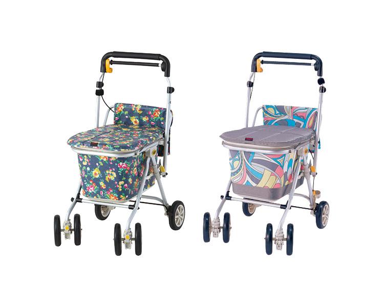 シルバーカー ヘルスバッグわくわくタントN 象印ベビー手押し車 老人 4輪 折り畳み おりたたみ 介護用品