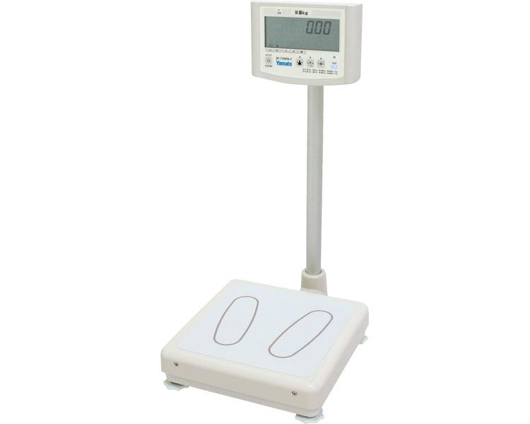 体重計 デジタル体重計(検定品) DP-7700PW-F 大和製衛業務用体重 BMI測定 ダイエット 健康管理 施設 病院 体重測定 高齢者 介護用品 学校