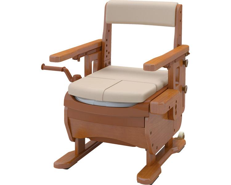 安寿 家具調トイレセレクトR はねあげ/533-867 暖房便座 アロン化成