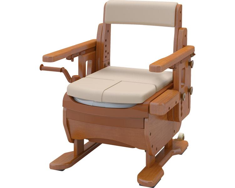 安寿 家具調トイレセレクトR はねあげワイド/533-876 暖房・快適脱臭 アロン化成