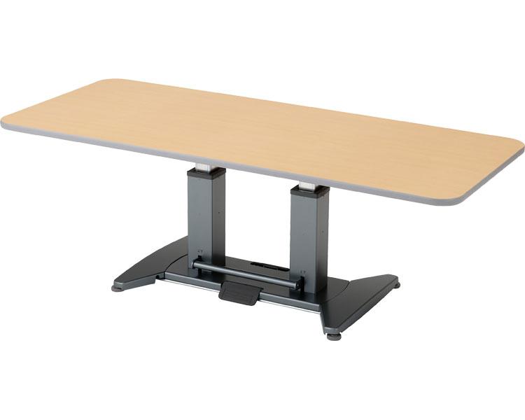 折りたたみ昇降テーブル/TLX 6~8人用 奥行90cm ピジョンタヒラ