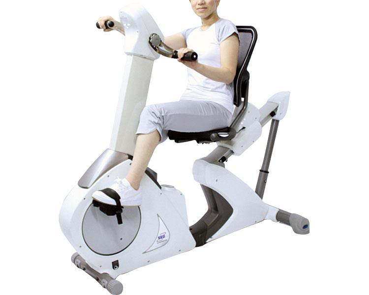 トータルリカンベントバイク コードレス式 BG-3256【中旺ヘルス】【smtb-kd】【送料無料】【リハビリ トレーニング ダイエット 運動器具 介護用品】