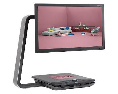 拡大読書器 クリアビューC HD22 タイムズコーポレーション読書 介護 介護用品 便利グッズ
