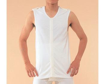ランニング MU-15 限定タイムセール LL 神戸生絲KOBES 衣類 完全送料無料 介護衣料 介護用品