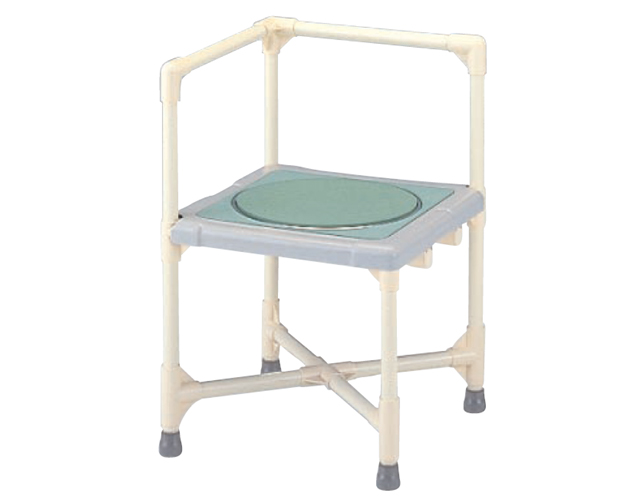 シャワーいす L型 ターンテーブルタイプ(大)/CAT-0101 矢崎化工 【介護用品 入浴用品 バスチェアー シャワー椅子】